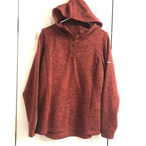 Columbia Rust Colored Fall Pullover Women's L EUC